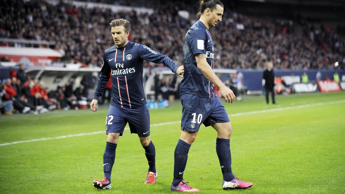 Zlatan Ibrahimovic-David Beckham