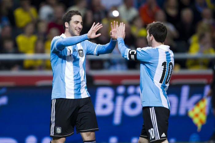 Gonzalo Higuain & Lionel Messi, Argentine