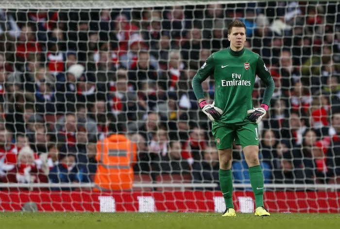Szczesny, Arsenal
