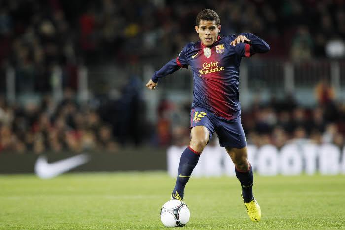 Jonathan Dos Santos, FC Barcelone