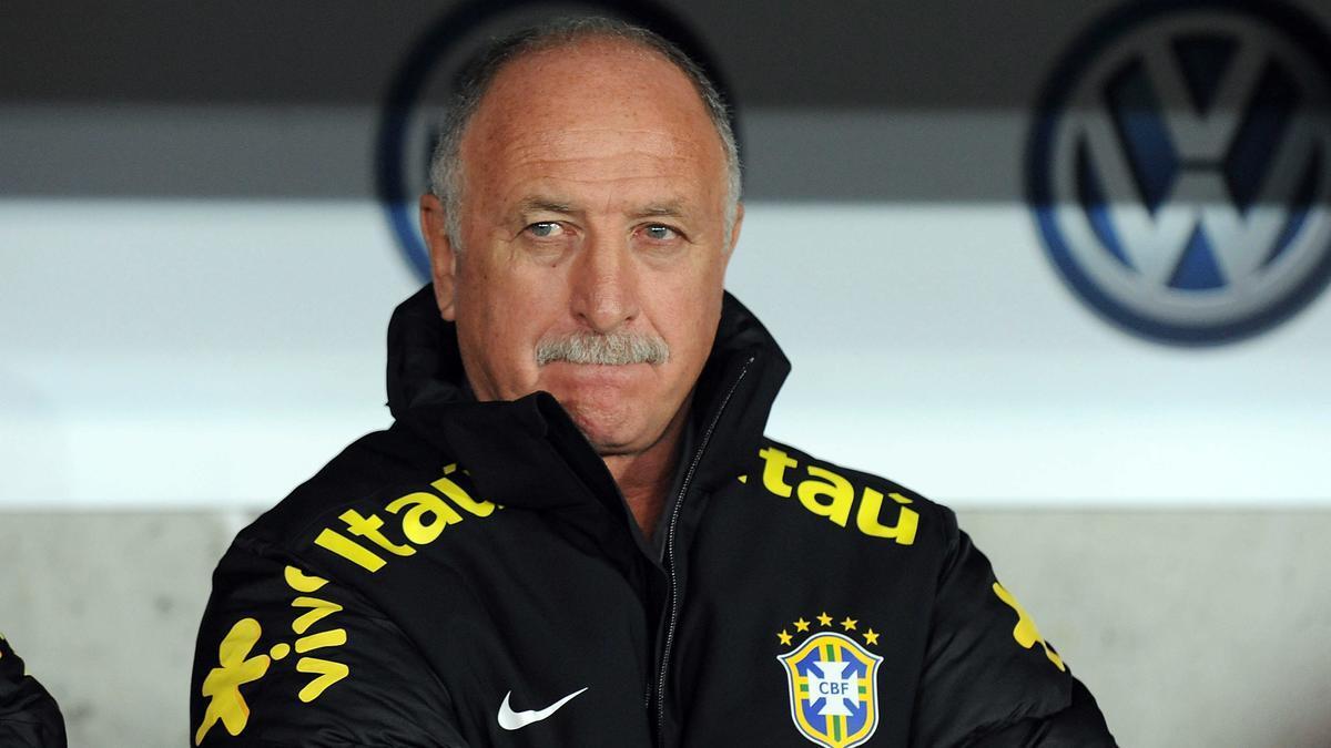 Luis Felipe Scolari, Brésil