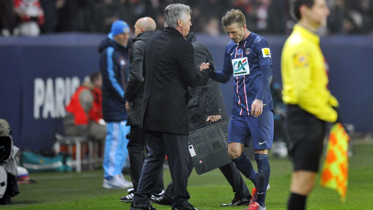 Beckham - Ancelotti