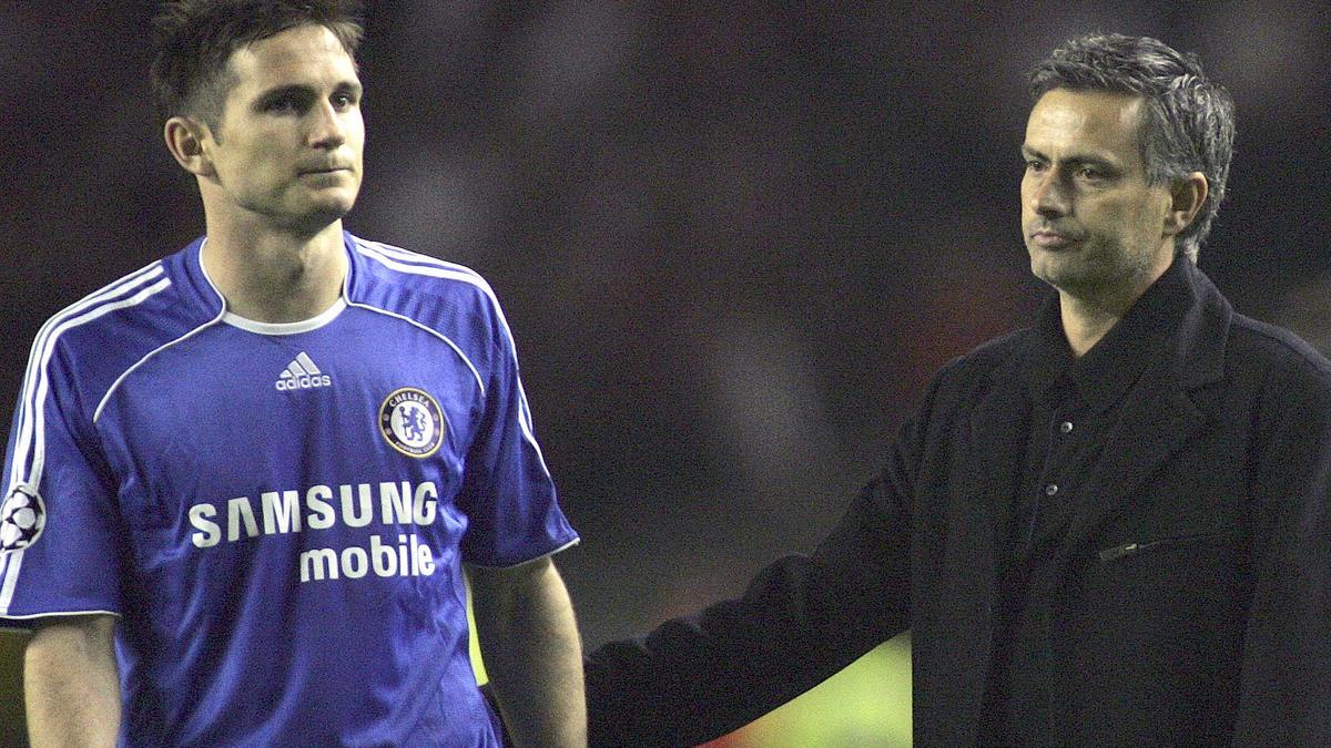 Lampard - Mourinho