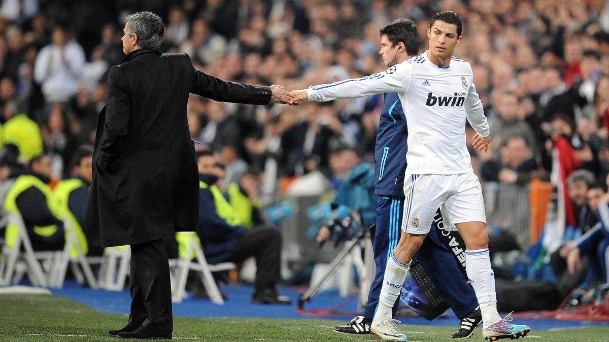 José Mourinho-Cristiano Ronaldo