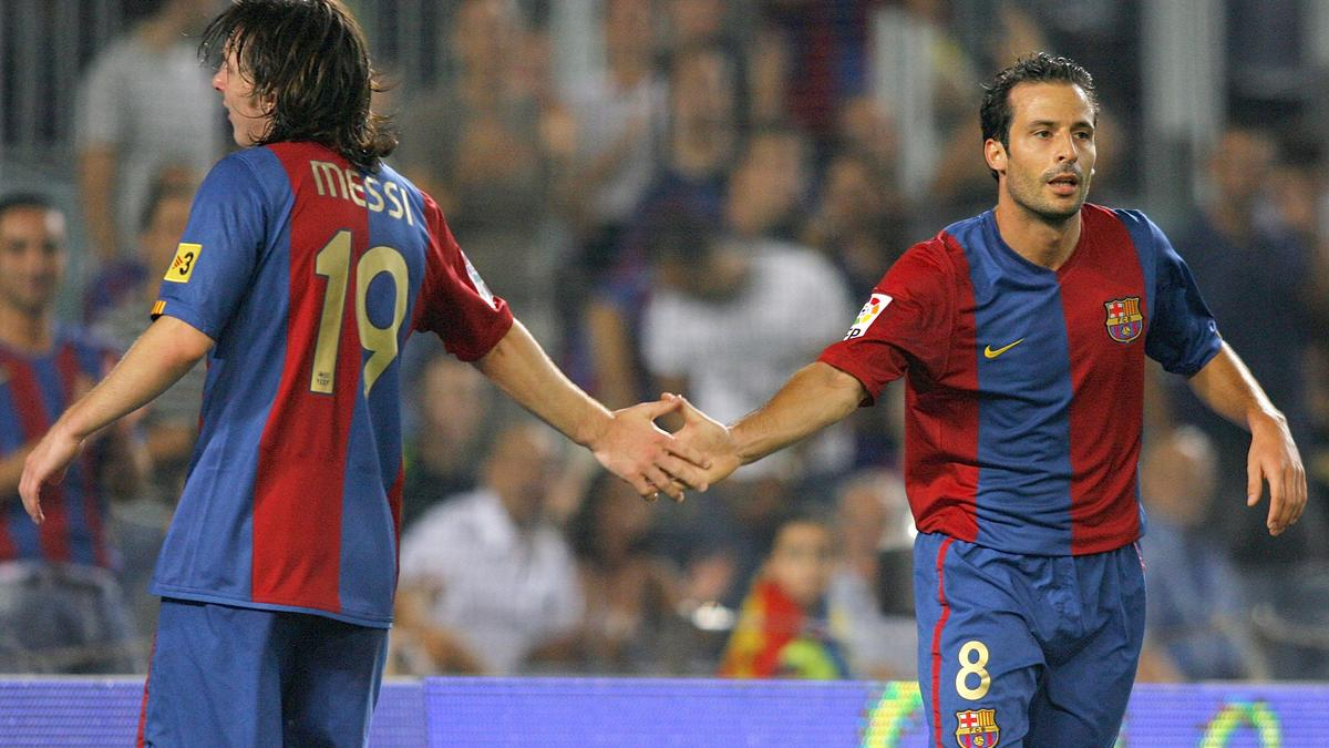 Messi - Giuly