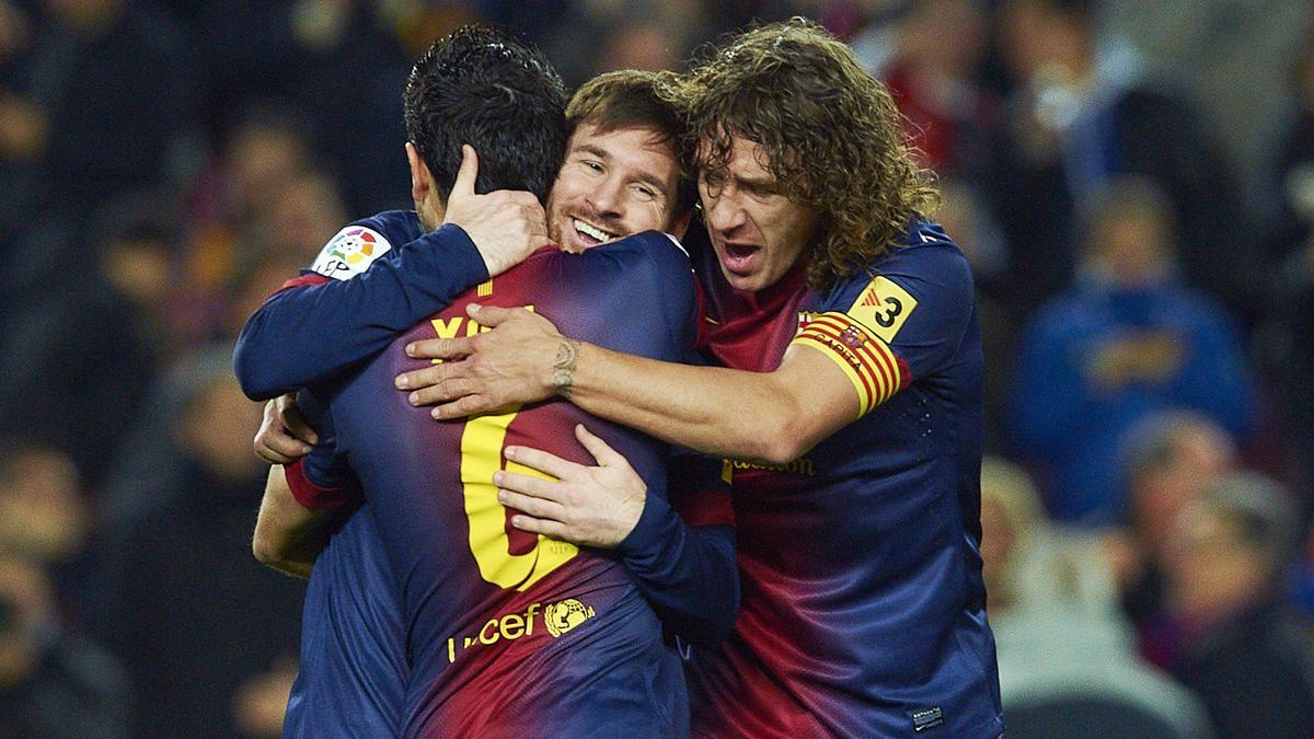 Lionel Messi - Carles Puyol