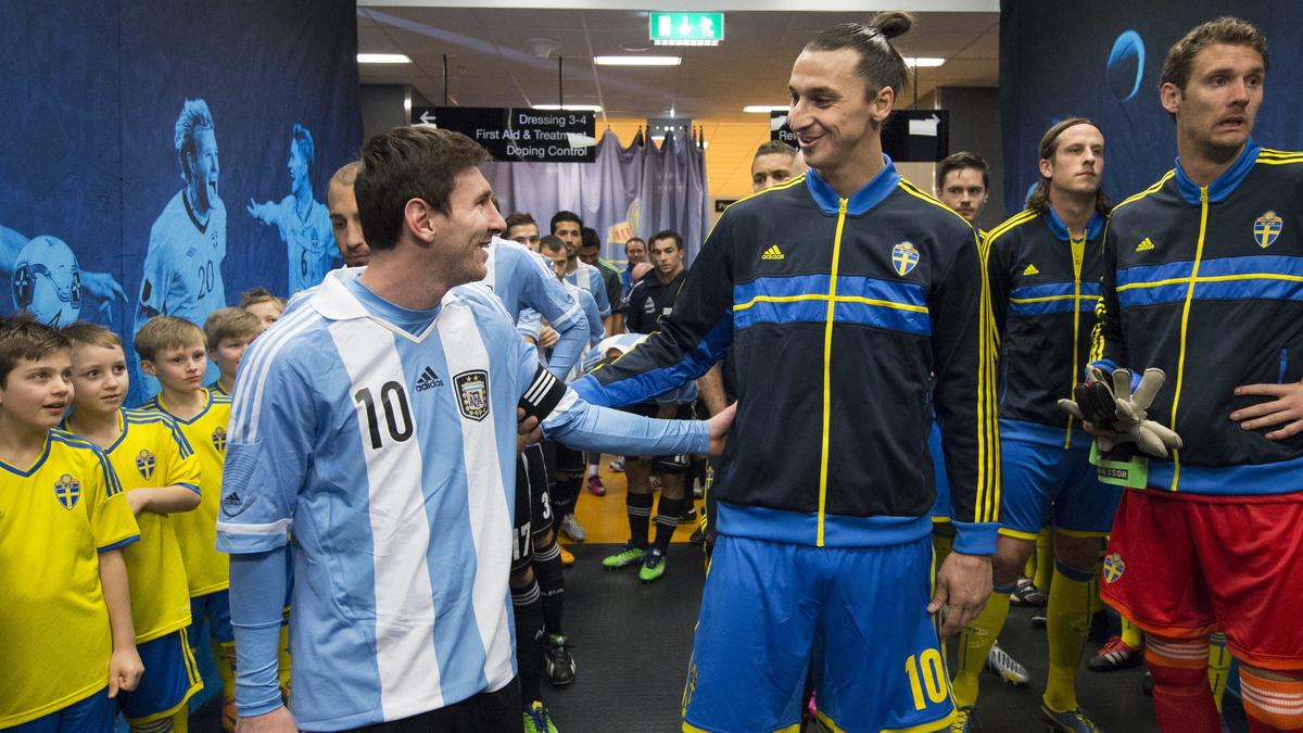 Lionel Messi - Zlatan Ibrahimovic