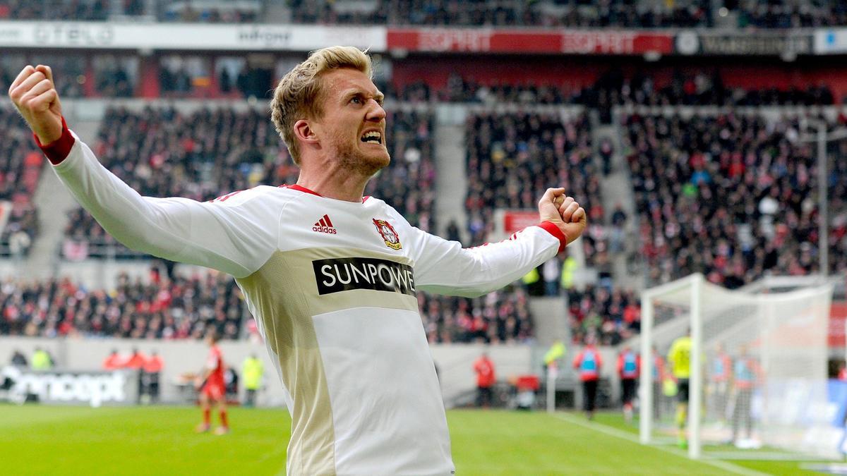 André Schürrle sous le maillot du Bayer Leverkusen