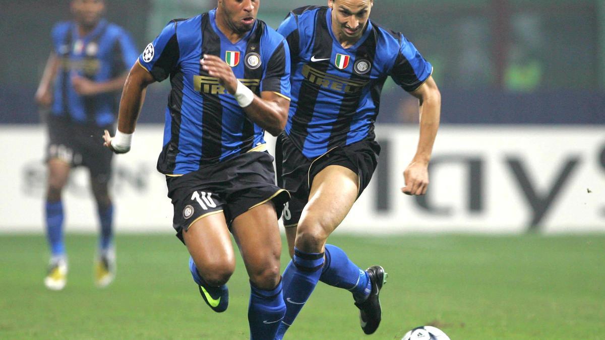 Adriano - Zlatan Ibrahimovic