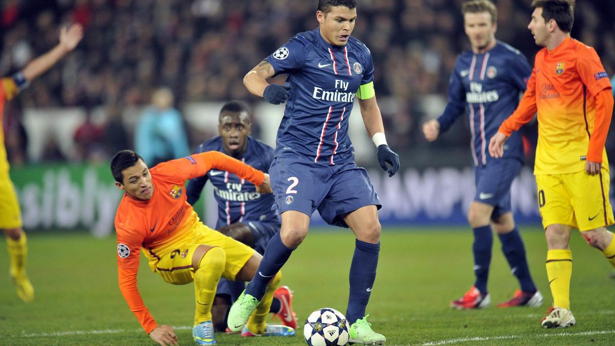 PSG : Première offre ferme du Barça pour T.Silva ?