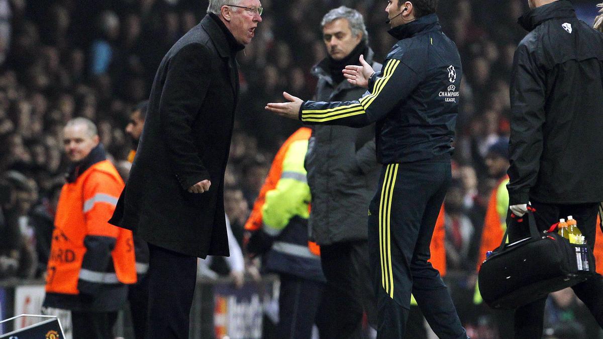 Mourinho - Ferguson