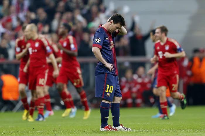 Messi vs. Bayern Munich