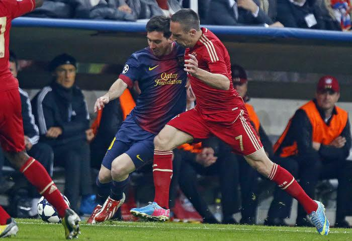 Lionel Messi & Franck Ribéry