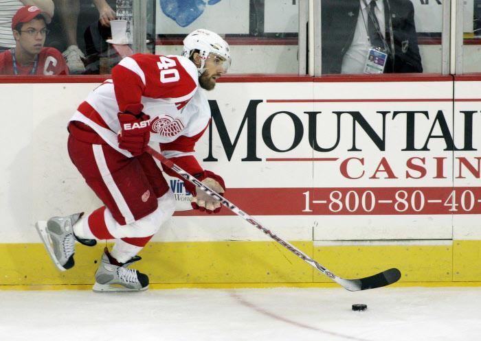 Henrik Zetterberg, Détroit Red Wings