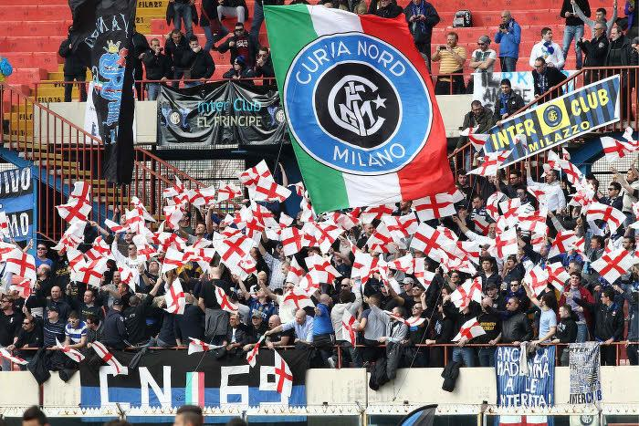 Tifosi de l'Inter Milan