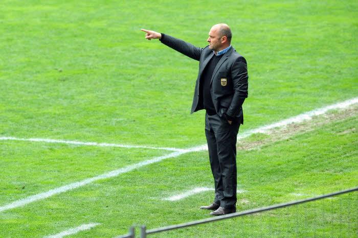 Pascal Dupraz, entraîneur d'Evian TG