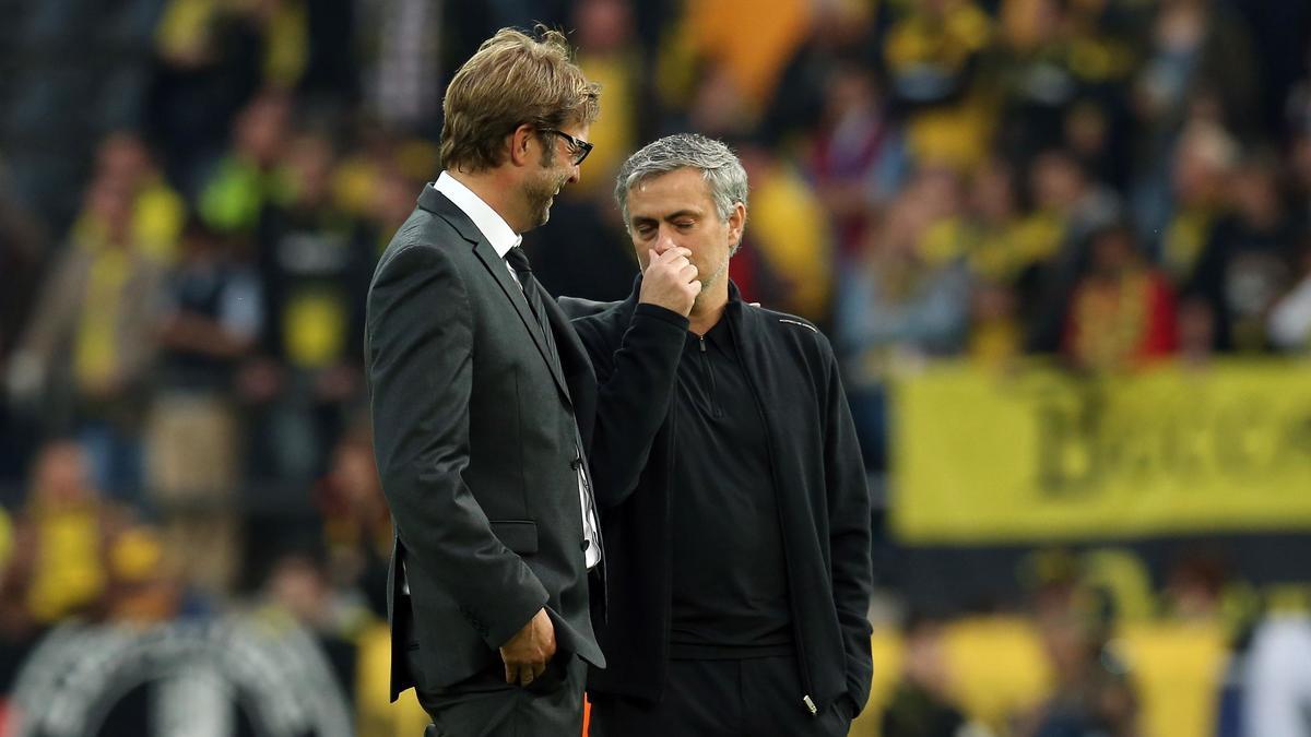 José Mourinho - Jürgen Klopp