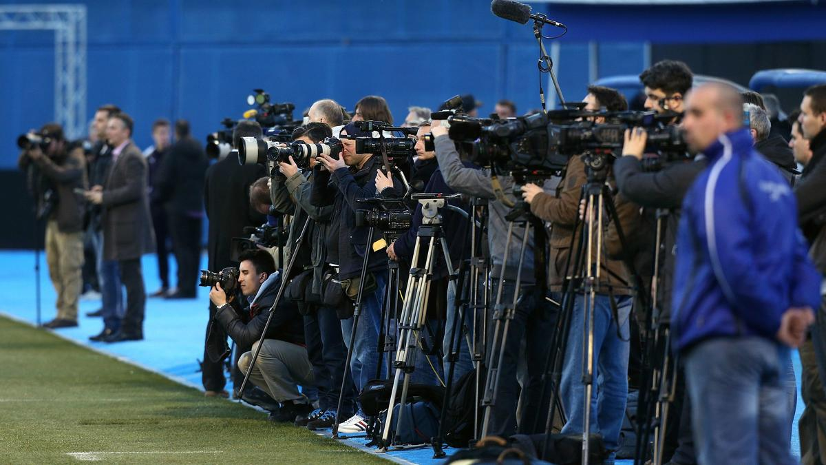 Journalistes Barça-Bayern