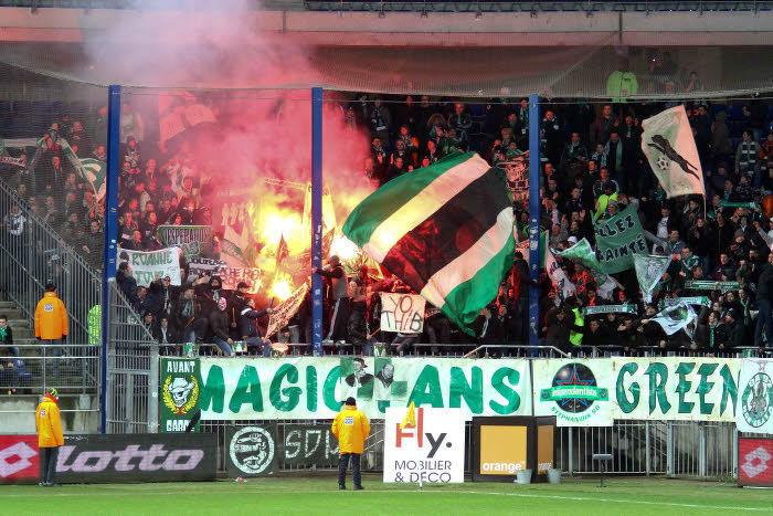 Supporters Saint-Etienne