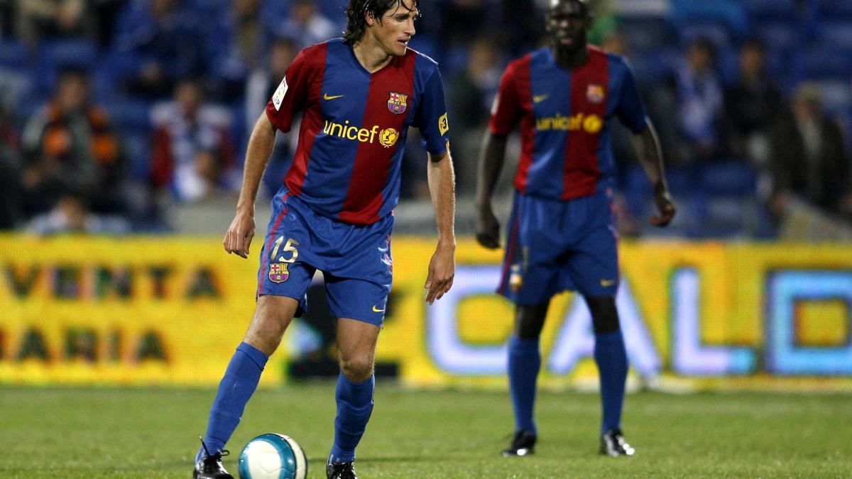 Edmilson avec le FC Barcelone