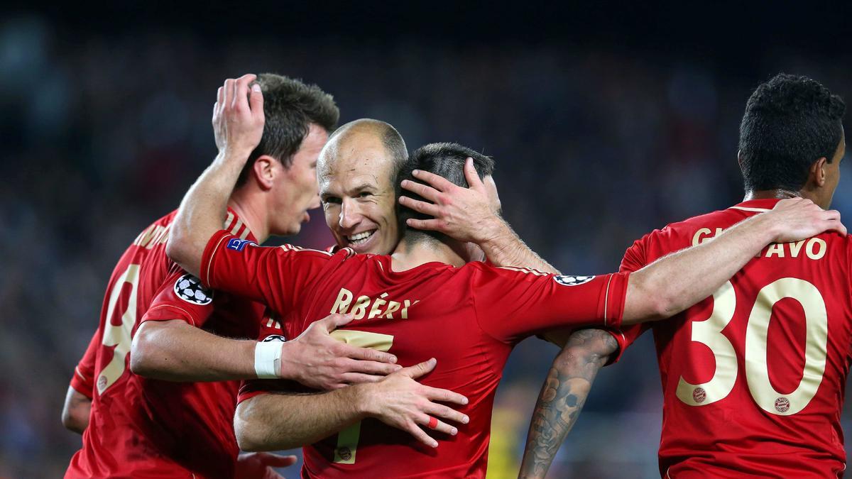 La joie de Robben et du Bayern