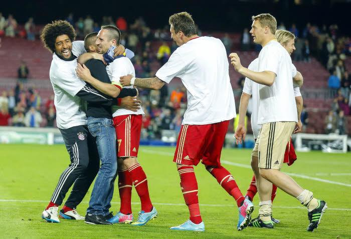 Joie Dante / Franck Ribery et un fan
