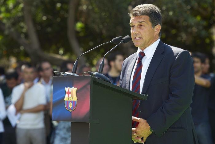 Joan Laporta, FC Barcelone