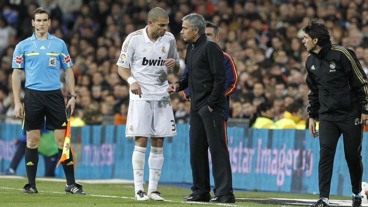 Pepe - Mourinho