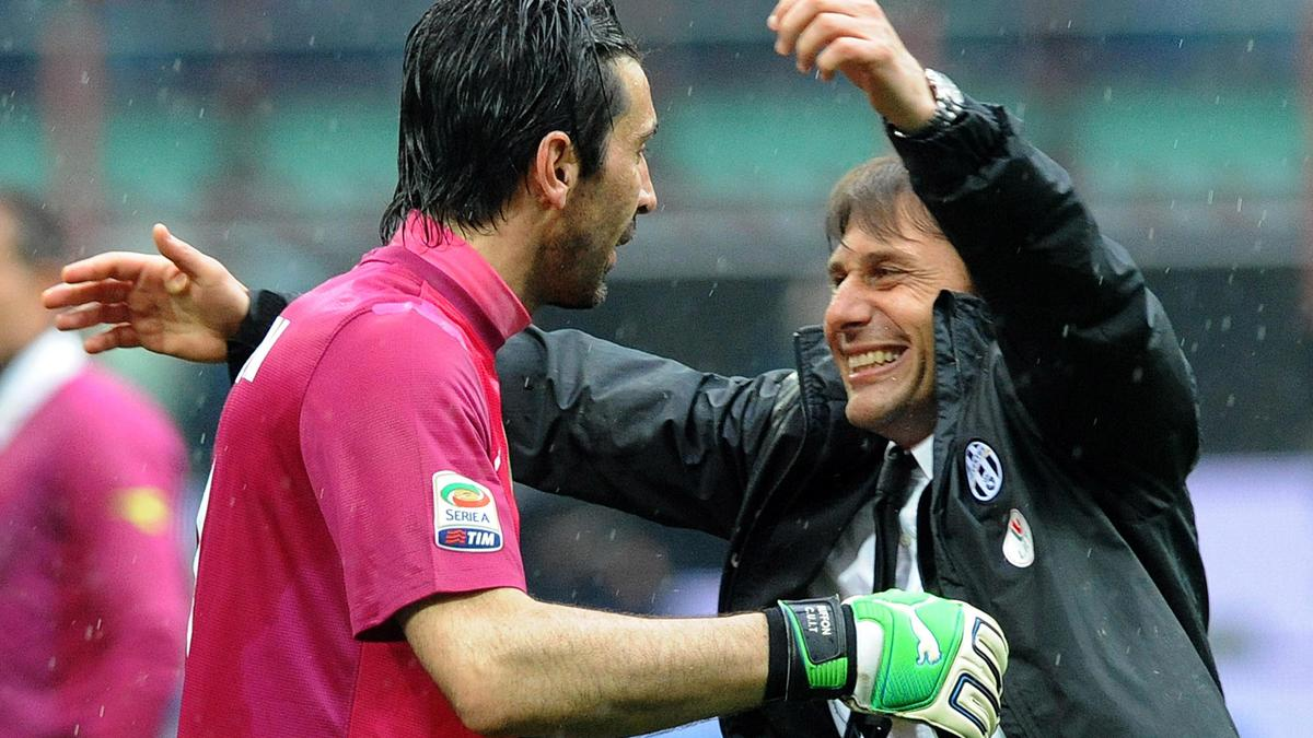 Gianluigi Buffon - Antonio Conte