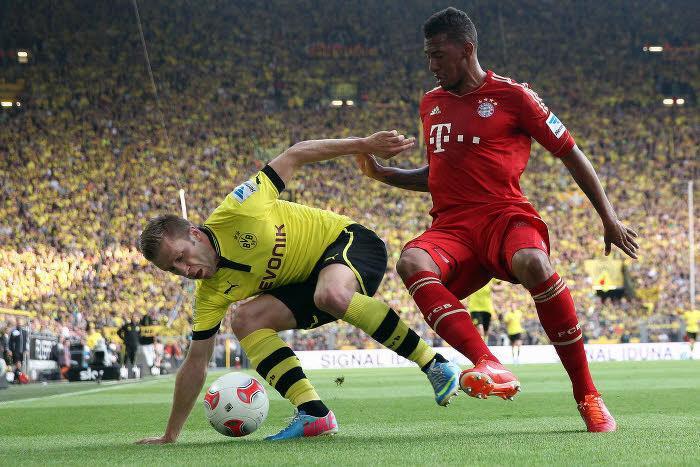 Signal Iduna Park de Dortmund, Dortmund-Bayern