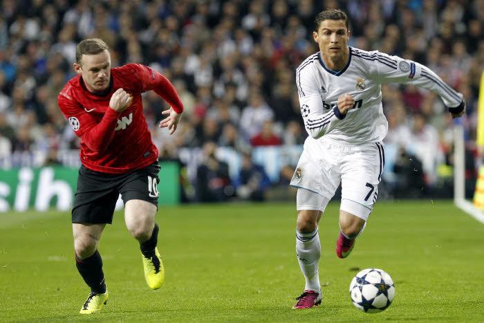 Rooney, Ronaldo