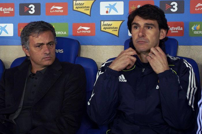 Jose Mourinho et Aitor Karanka