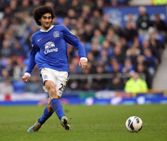 Marouane Fellaini, Everton