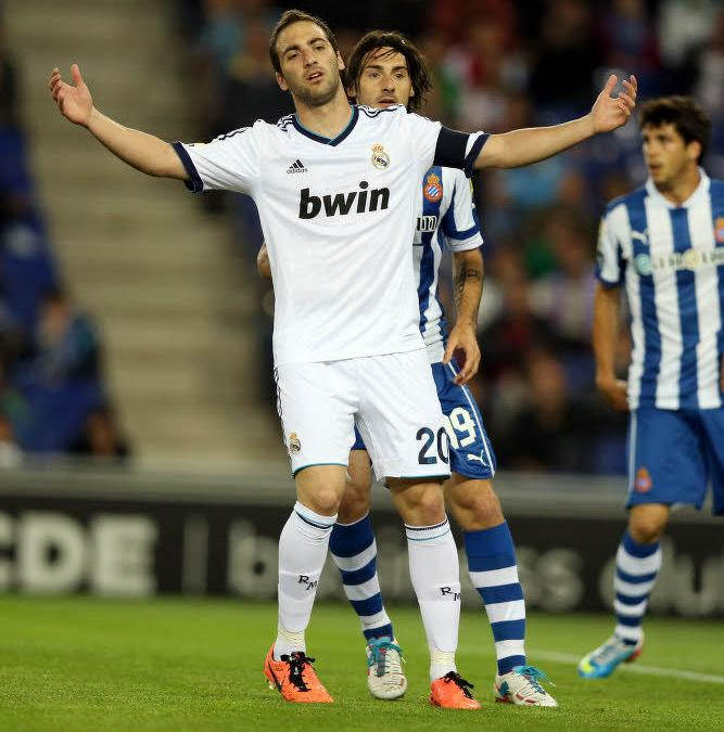 Gonzalo Higuain, Real Madrid