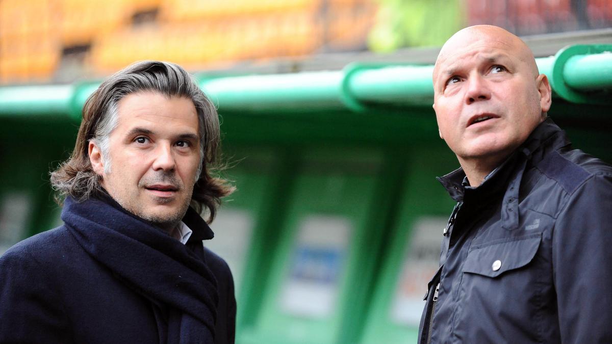 Vincent Labrune & José Anigo, OM