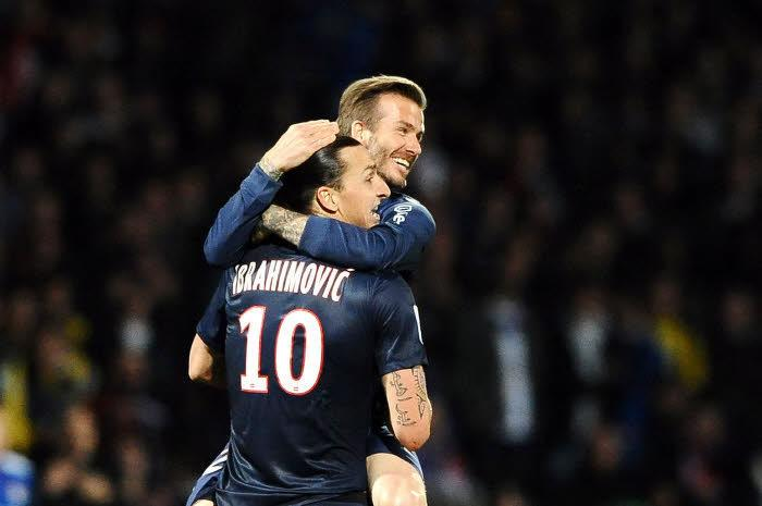David Beckham, Ibrahimovic, PSG