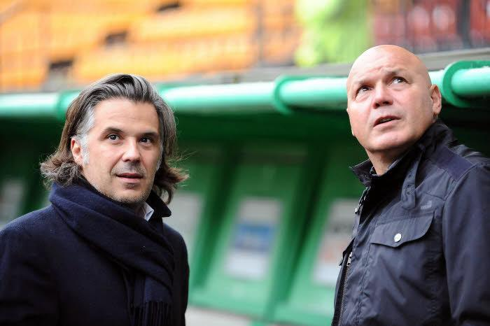 Vincent Labrune et José Anigo, OM