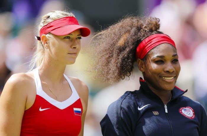 Serena Williams & Maria Sharapova