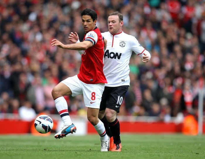 Wayne Rooney et Mikel Arteta finiront-ils la saison sous le même maillot ?