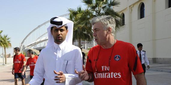 PSG : Aucun rendez-vous pris entre Ancelotti et Nasser !