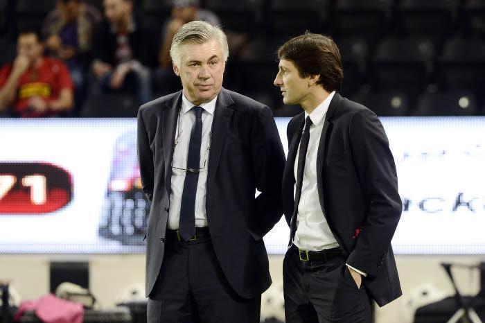 Carlo Ancelotti & Leonardo