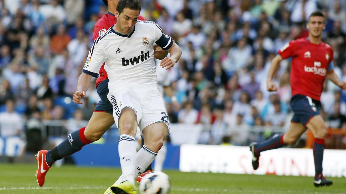 Higuain : «Je vais quitter le Real Madrid»