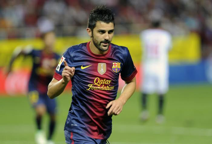 David Villa, FC Barcelone