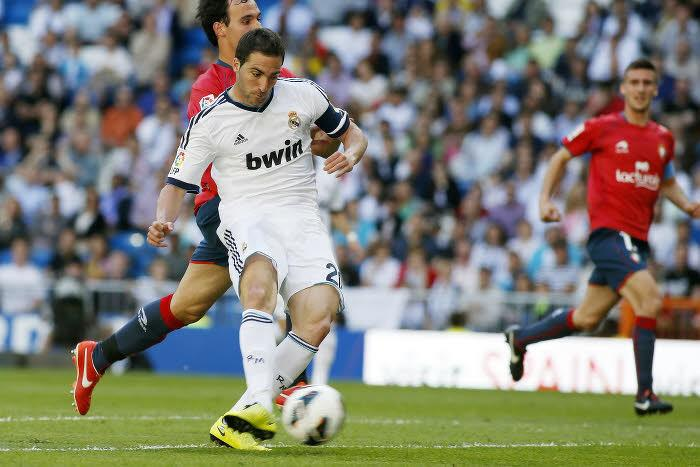Gonzalo Higuain, Real Madrid