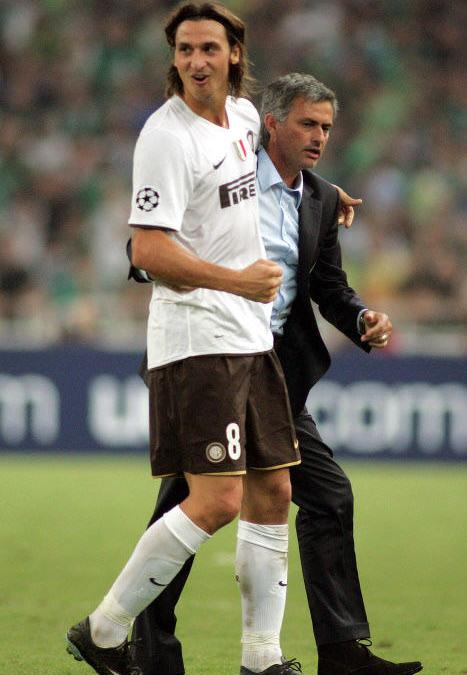 Ibrahimovic, Mourinho