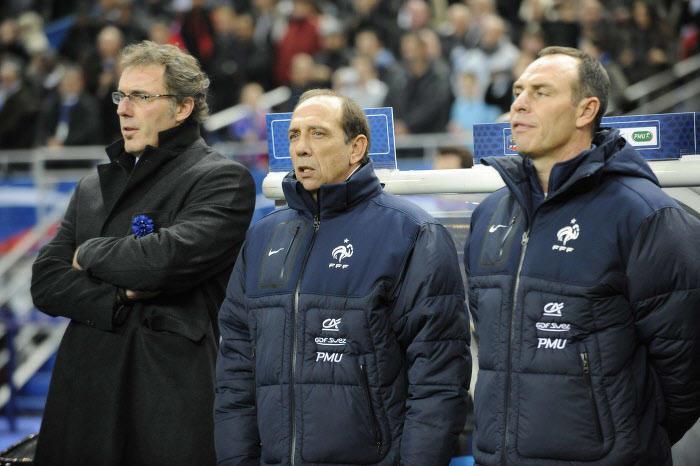 Laurent Blanc, Jean-Louis Gasset & Alain Boghossian