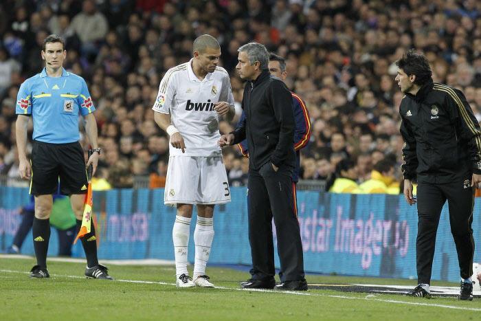 Pepe & José Mourinho