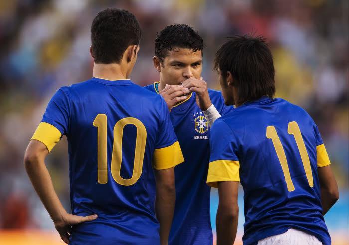 Thiago Silva, Neymar