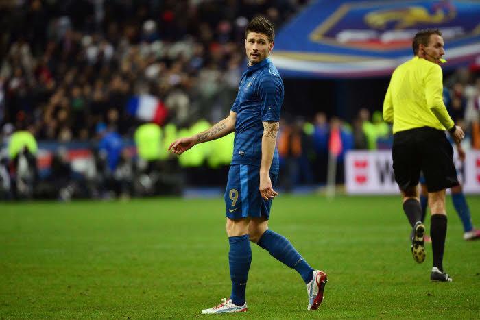 Olivier Giroud, Equipe de France