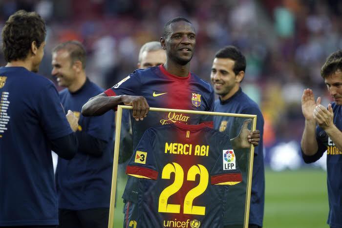 Eric Abidal, Barça
